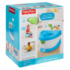 Fisher-Price FPC42 L&L with Puppy Musical Potty Chair