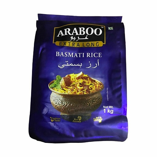 Araboo Extra Long Basmati Rice 1 Kg