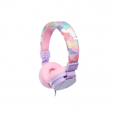 Smiggle Illusion Fold Up Headphones - Lilac