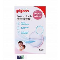 Pigeon Breast Pad Honeycomb 12 pcs Pack