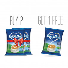 Nestle EveryDay Milk Powder Pouch 500 gm Buy 2 Get 1 Free