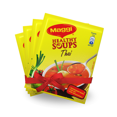 Maggi Healty Soup Thai Flavour 4 Pcs