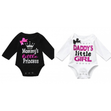 Baby Girl Long Sleeve Bodysuit