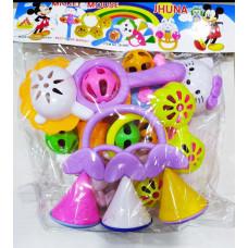 Micky Mouse Jhunjhuni Set