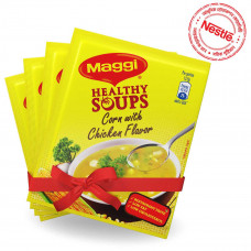 Maggi Healthy Soup Corn with Chicken Flavor 4 Pcs
