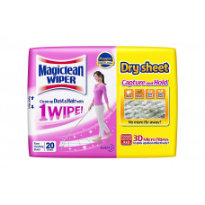 Magiclean Wiper Dry Sheets 20s