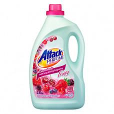 Attack Perfume Fruity Liquid Detergent 3.6kg