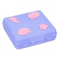 Smiggle Super Sandwich Container Lilac