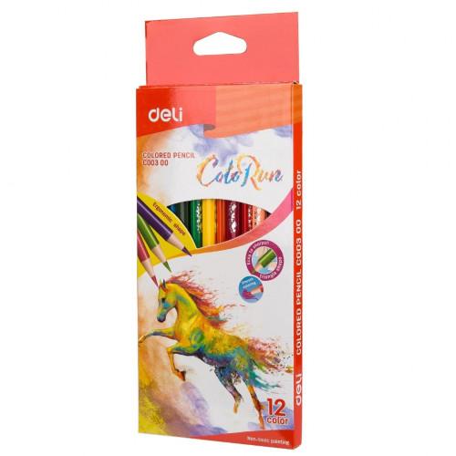 Deli ColoRun Colored Pencil 12 Colors