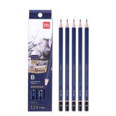 Deli Arte Nuevo B Drawing Pencil 12 Nos