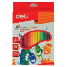 Deli Color Emotion Color Pencil 36 Colors