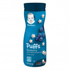 Gerber Puffs Blueberry Cereal Snacks 42g