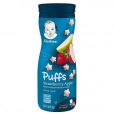Gerber Puffs Strawberry Apple Cereal Snacks 42g