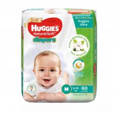 Huggies Baby Diaper Ultra Belt M 5-10 kg 60 Pcs