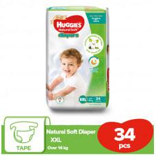 Huggies Baby Diaper Ultra Belt XXL Over 14 kg 34 Pcs