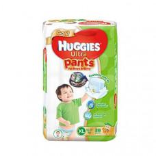Huggies Gold Diaper Ultra Pants Boys & Girls XL 12-17 kg 38 pcs