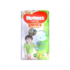 Huggies Gold Diaper Ultra Pants Boys & Girls XXL 15-25 kg 32 pcs
