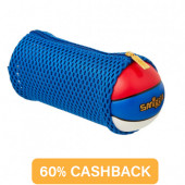 Smiggle Basketball Mesh Net Pencil Case Blue