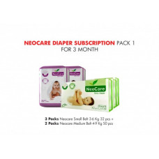 Neocare Diaper Subscription Pack 1 for 3 Months