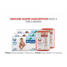 Neocare Diaper Subscription Pack 3 for 3 Months
