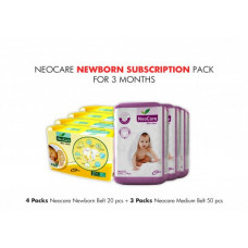 Neocare Newborn Subscription Pack for 3 Months