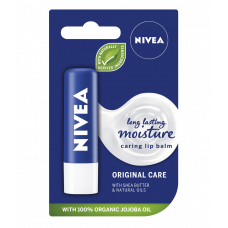 NIVEA Lip Balm Original Care with Natural Oils