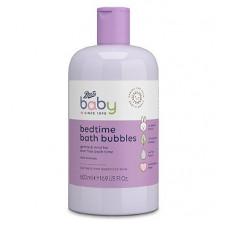 Boots Baby Bedtime Bath Bubbles Gentle & Mild For Tear Free Bath Time Mild Formula 500 mL