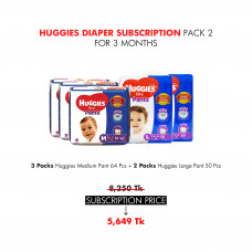 Huggies Diaper Subscription Pack 2 for 3 Months