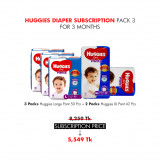 Huggies Diaper Subscription Pack 3 for 3 Months