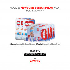 Huggies Newborn Subscription Pack for 3 Months