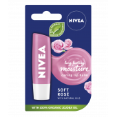 NIVEA Lip Balm Soft Rose with Natural Oils