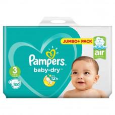 Pampers Baby Dry Size 3 belt 6-10 kg- 100 pcs (UK)