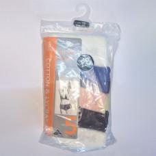 M&S 5 Pack Cotton Lycra High Waisted Full Briefs Assortment 3