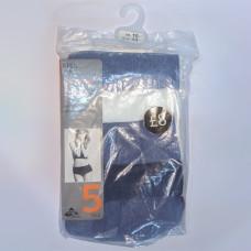 M&S 5 Pack Cotton Lycra High Waisted Full Briefs Assortment 6