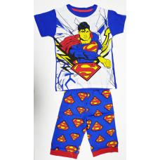 Boy's T-Shirt With Pant Superman - Blue