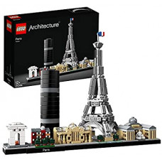 LEGO 21044 Architecture Paris Model Building Set with Eiffel Tower and The Louvre, Skyline Collection