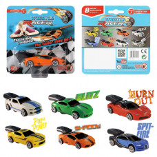 Whistle Racer Air-Powered Race Car Toys without Launcher