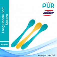 Pur Long Handle Spoons 3pcs