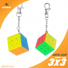 Rubik'S Cube With Clip 3X3