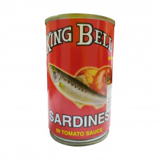 King Bell Sardine in Tomato Sauce 155 gm