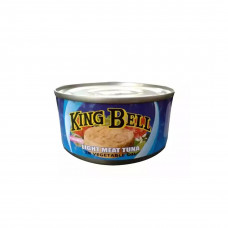 King Bell Tuna Chunk in Vegetable Oil 185 gm