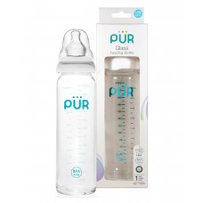 Pur Glass Feeding Bottle 240ml