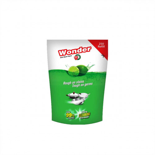 Wonder Dishwash Liquid Refill 250 ml