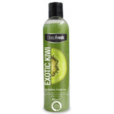 DEEP FRESH Exfoliating Shower Gel Exotic Kiwi 400ml (Turkey)