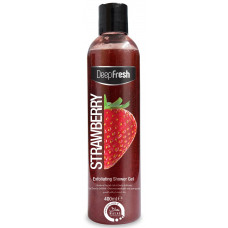 DEEP FRESH Exfoliating Shower Gel Strawberry 400ml (Turkey)