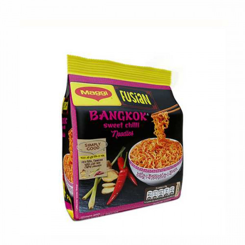 Nestle MAGGI Fusian Bangkok Sweet Chili Noodles 4 Pack 260 Gm