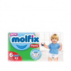 Molfix Jumbo Pants XXL 15+ Kg 42 Pcs (Made in Turkey)