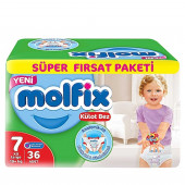Molfix 7 Baby Diaper Pant 19+ kg 36 Pcs (Made in Turkey)