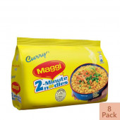 Nestle MAGGI 2-Minute Noodles Curry 8 Pack 496 gm