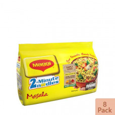 Nestle MAGGI 2-Minute Noodles Masala 8 Pack 496 gm